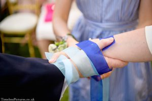 Hand fasting ceremony