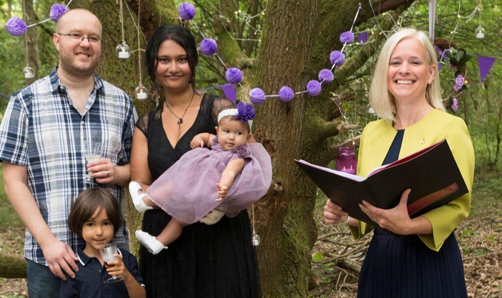 Woodland naming ceremony